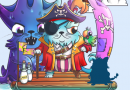 Some subtotals of The Pirate Month. Limits, monster-kitty, new purrstige.