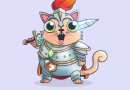CryptoKitties released new exclusive cryptokitty for the most active community members. Welcome Sir Meowsalot!