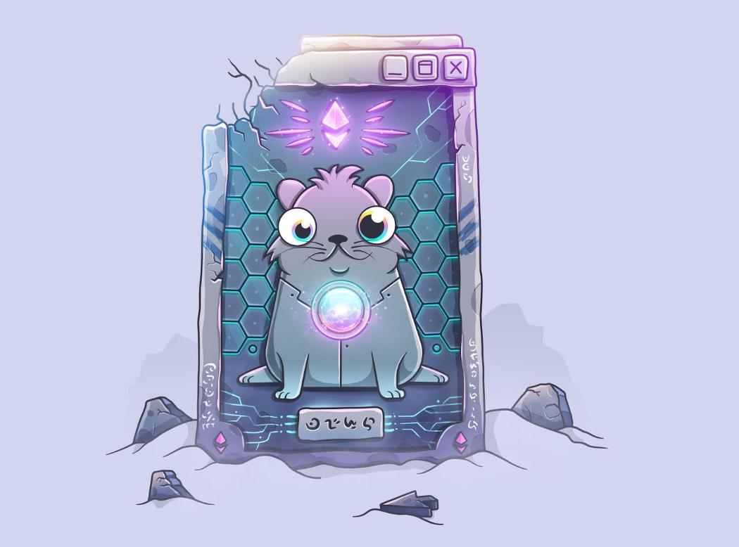 Celestial kitten